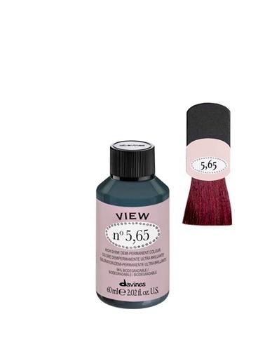 Davines Davines View Yarı Kalıcı Saç Boyası 5,65 Açık Kahve Kızıl Akaju 60 Ml Renksiz